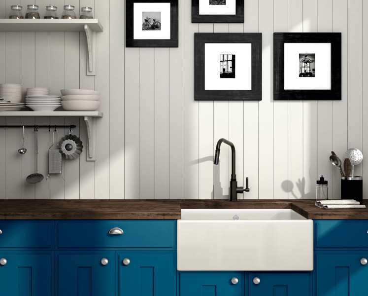 Rohl Campo Kitchen With Shaws Sink