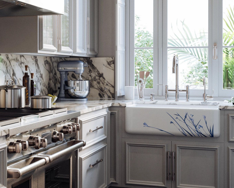 Perrin & Rowe Armstrong Collection Kitchen