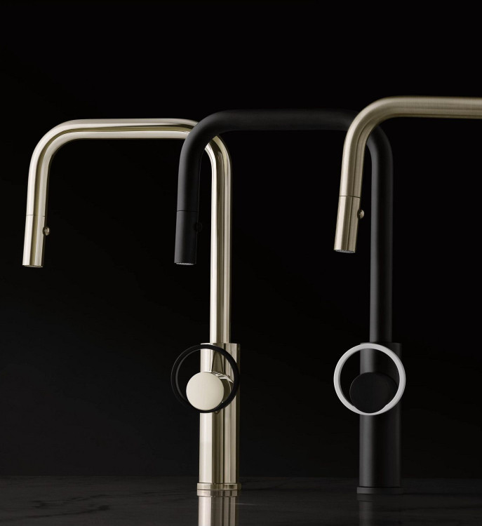 Eclissi Kitchen Faucet Finishes