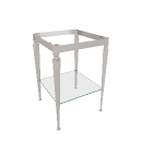Satin Nickel Wash Stand