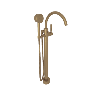 Graceline Tub Filler French Brass