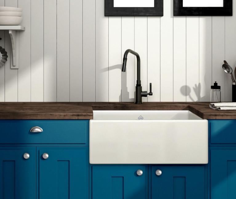 Graceline Black and Gold Kitchen Faucet