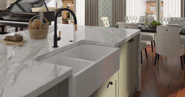 Shaws Modern Kitchen Sinks