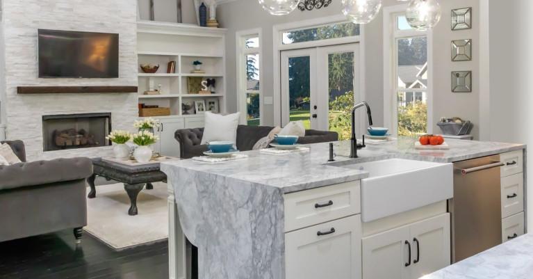 Shaws Transitional Kitchen Sinks